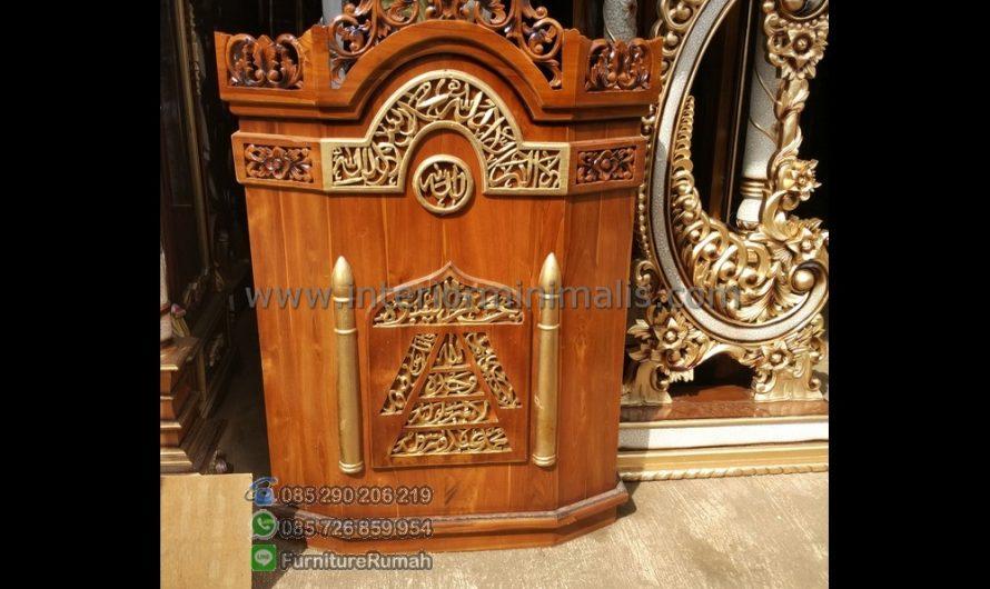 Best Seller Contoh Mimbar Masjid Minimalis MM 505