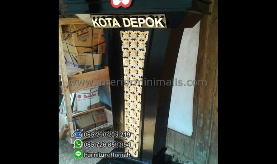 Best Seller Desain Podium Stainless MM 433