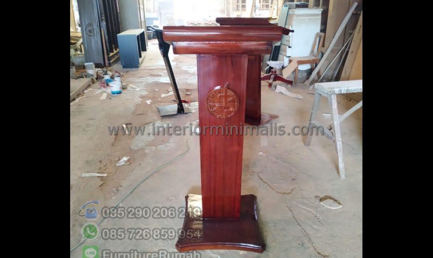 Best Seller Harga Mimbar Masjid Minimalis MM 817