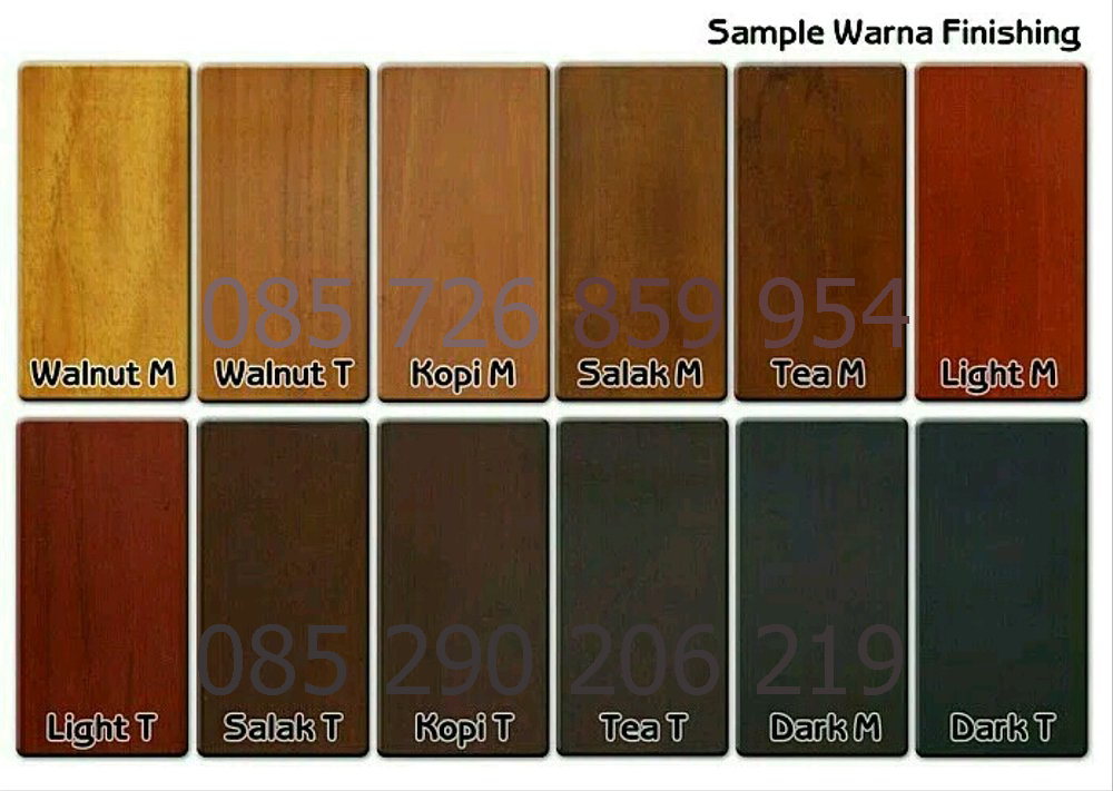 Contoh Warna Finishing