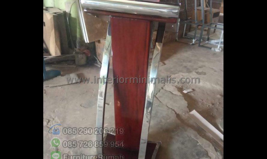Furniture Jati Masjid Al Mimbar Kabupaten Tulungagung Jawa Timur MM 871