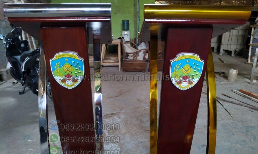 Furniture Jati Mimbar Jati Jepara MM 751