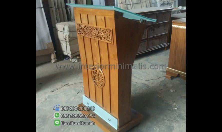 Furniture Jati Mimbar Masjid Jepara MM 535