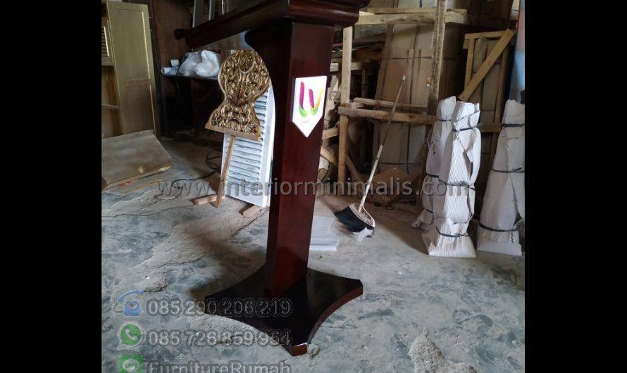 Furniture Jati Mimbar Masjid Sesuai Sunnah MM 655
