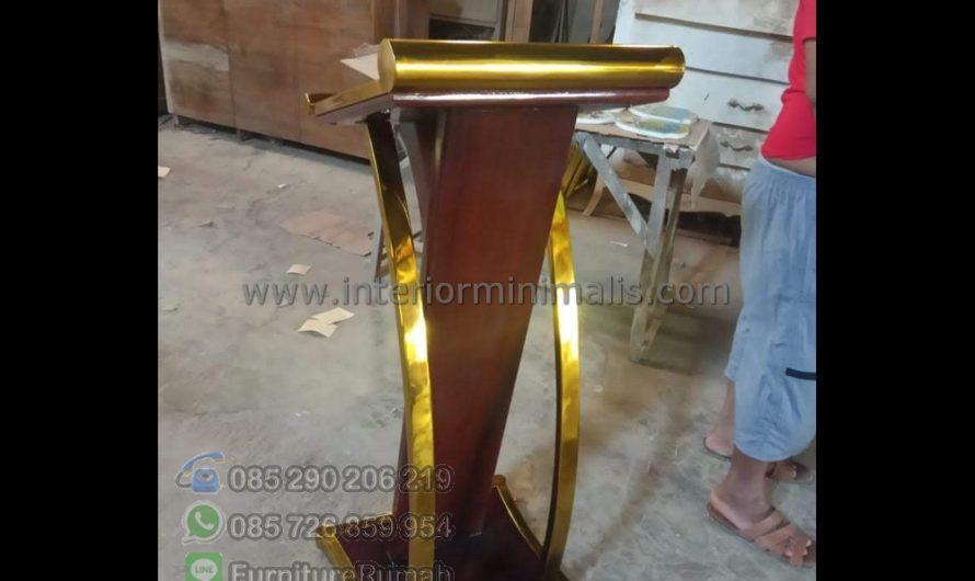Furniture Jepara Desain Mimbar Masjid MM 893