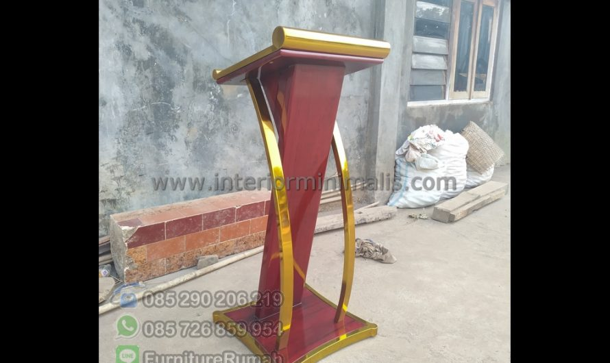 Furniture Jepara Jual Mimbar Kayu Jati MM 773