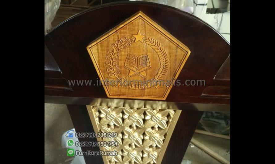 Furniture Jepara Masjid Al Mimbar Tulungagung MM 557