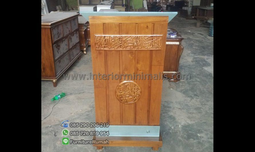 Furniture Jepara Mimbar Masjid Kubah MM 533