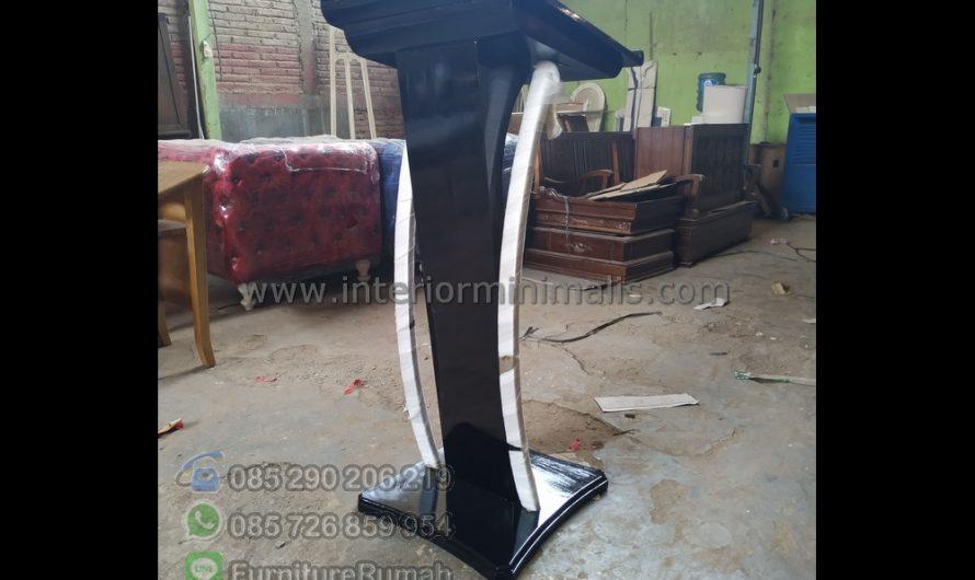 Furniture Jepara Mimbar Masjid Minimalis Stainless MM 725