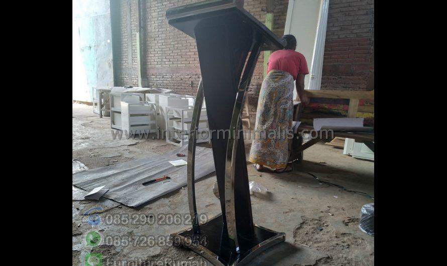Furniture Jepara Mimbar Masjid Quba MM 653
