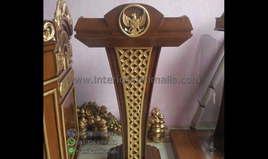 Furniture Minimalis Foto Mimbar Masjid Minimalis MM 507