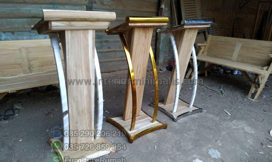 Furniture Minimalis Gambar Mimbar Minimalis Sederhana MM 723