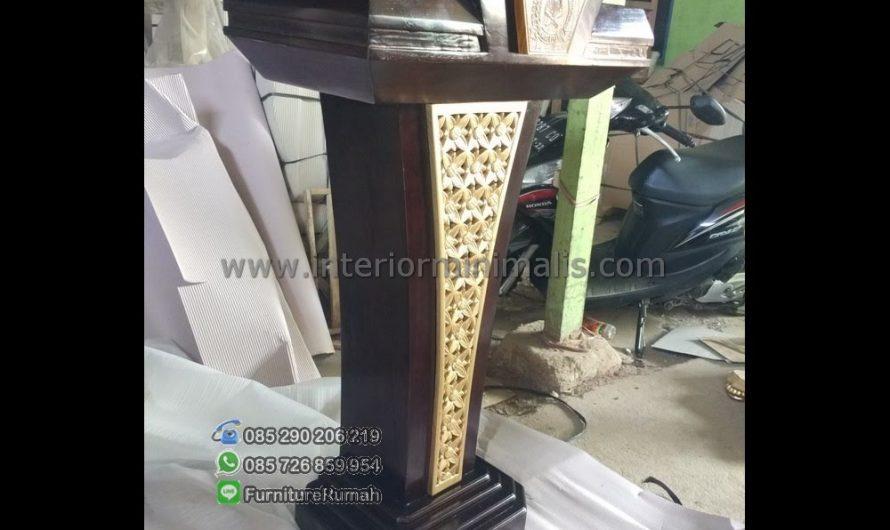 Furniture Minimalis Mimbar Masjid Shah Alam MM 555