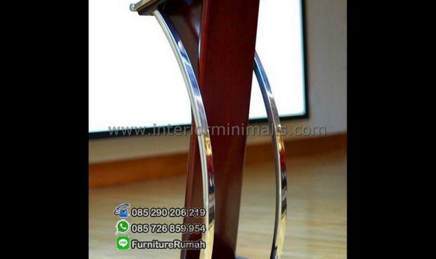 Furniture Minimalis Mimbar Stainless MM 411
