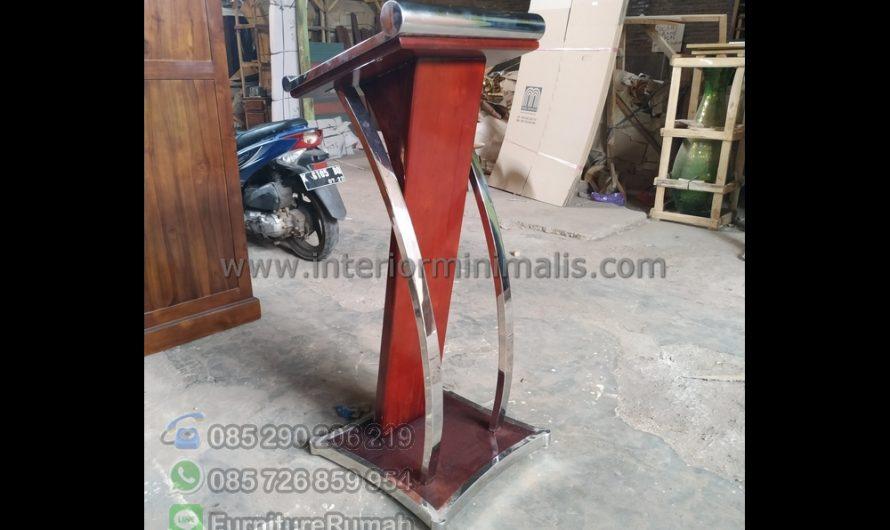 Furniture Modern Desain Mimbar Minimalis MM 803