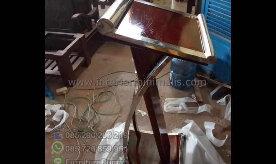Furniture Modern Harga Mimbar Masjid Sederhana MM 923