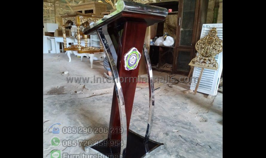 Furniture Modern Mimbar Masjid Semarang MM 659