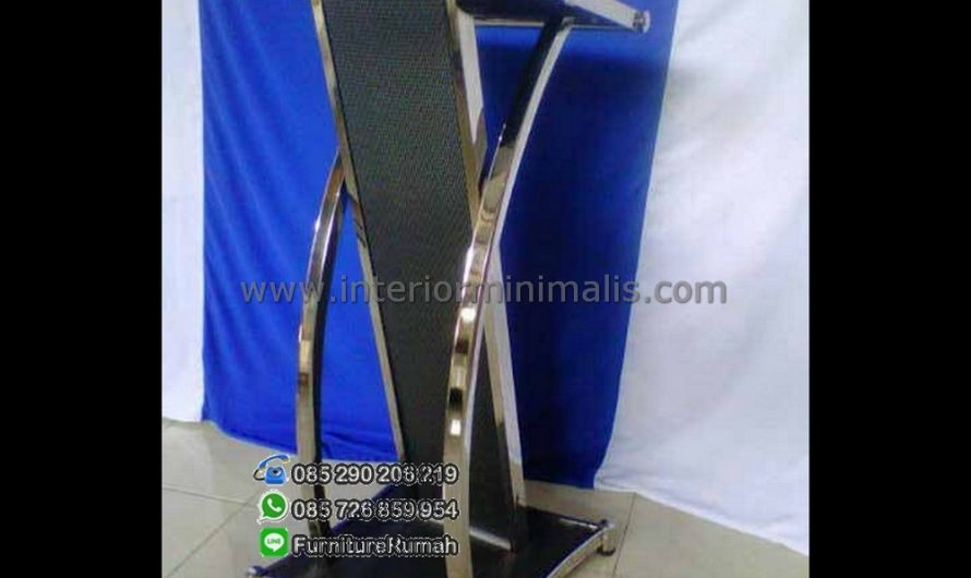 Furniture Modern Mimbar Stainless Steel MM 419