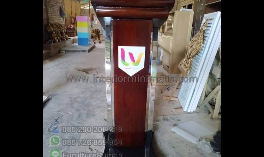 Furniture Stock Jual Mimbar Masjid Semarang MM 662