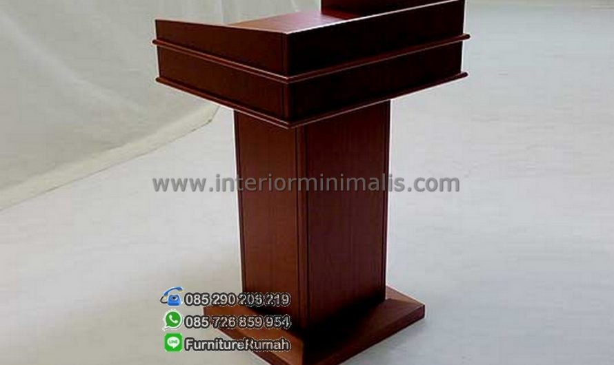 Furniture Stock Mimbar Gereja Jati MM 446