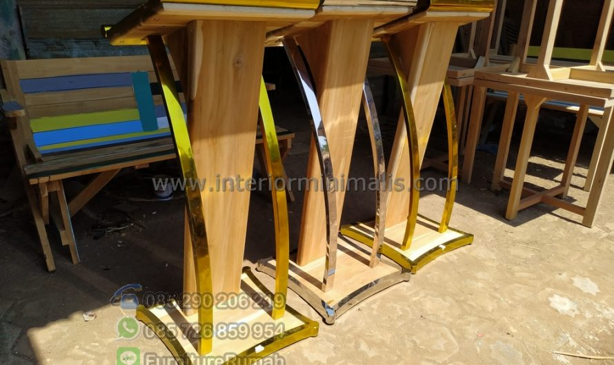 Furniture Stock Mimbar Stainless Steel MM 734