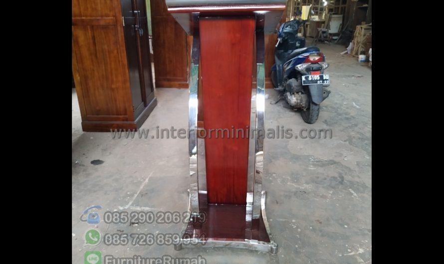 Furniture Terlaris Foto Mimbar Minimalis MM 804