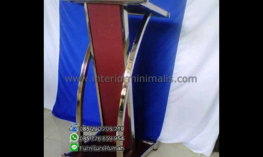 Furniture Terlaris Mimbar Gereja Stainless MM 420