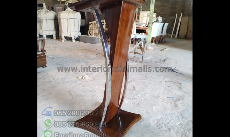 Furniture Terlaris Mimbar Jati Antik MM 756