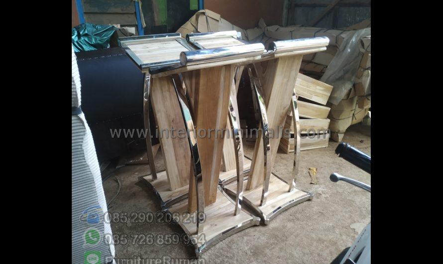 Furniture Terlaris Mimbar Masjid Malaysia MM 636