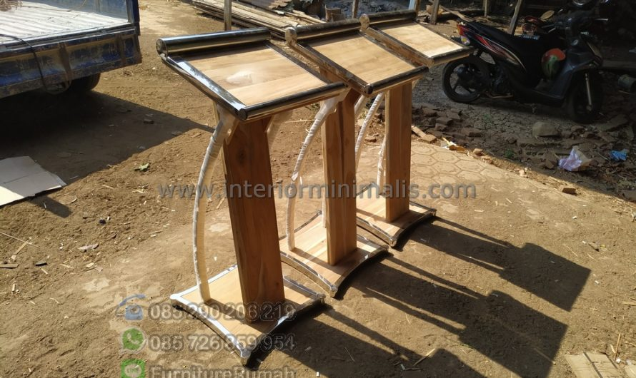 Furniture Terlaris Ukuran Podium Minimalis MM 708