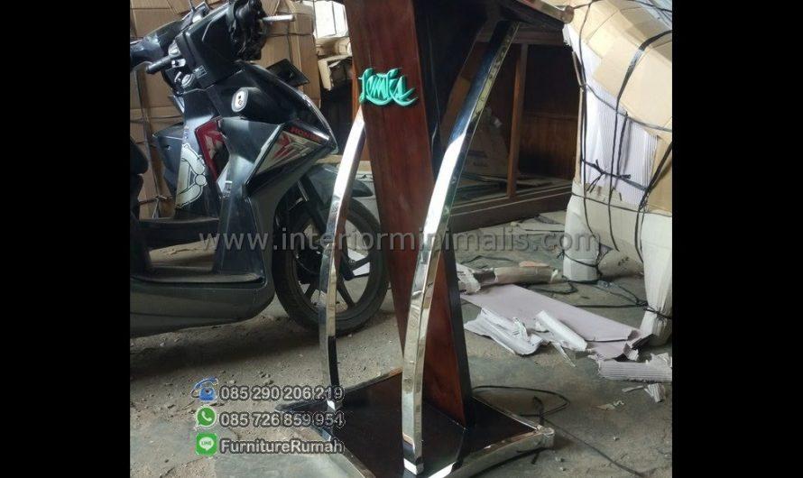 Mebel Jati Mimbar Masjid Bandung MM 560