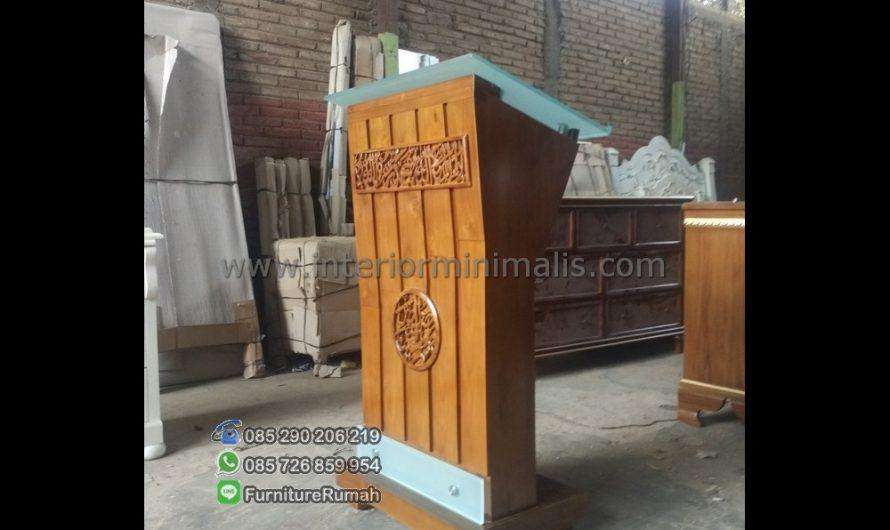 Mebel Minimalis Mimbar Masjid Sederhana MM 532