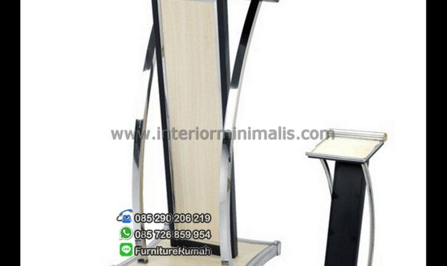 Mebel Minimalis Podium Stainless MM 412