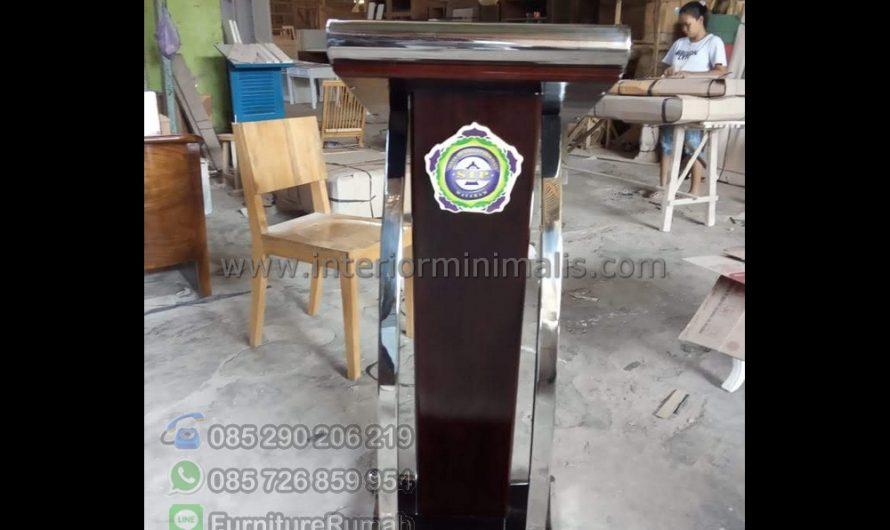 Mebel Terbaru Mimbar Masjid Agung Palembang MM 864