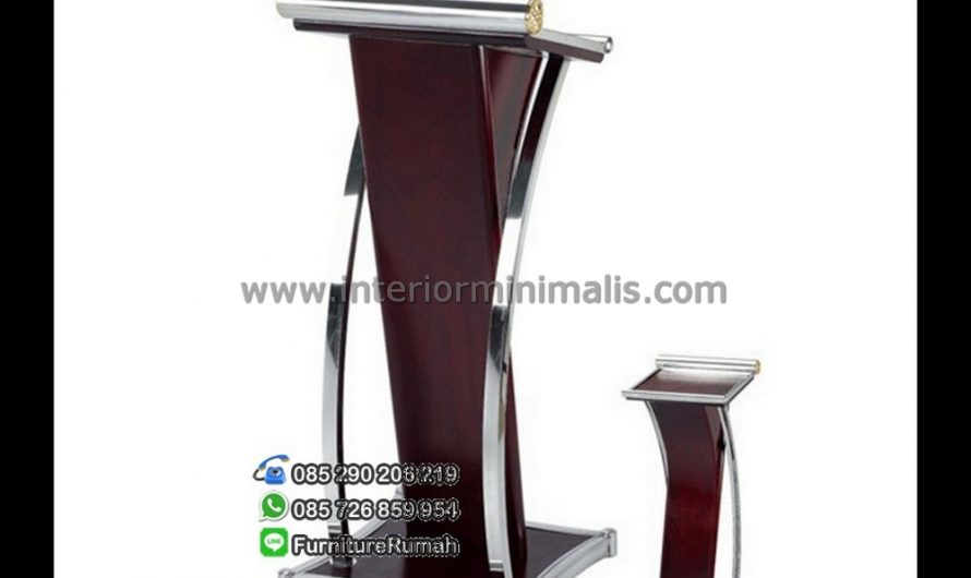 Paling Laku Podium Design Stainless Steel MM 434