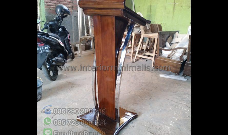 Produk Pilihan Mimbar Jati Jepara Kabupaten Jepara Jawa Tengah MM 753