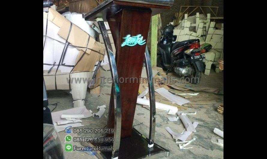 Produk Pilihan Mimbar Masjid Biasa MM 561