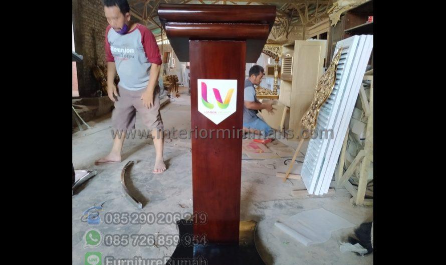 Produk Pilihan Mimbar Masjid Simple MM 657