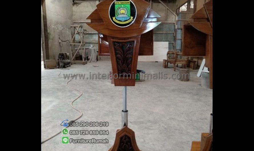 Produk Terbaru Harga Mimbar Masjid Jepara MM 610