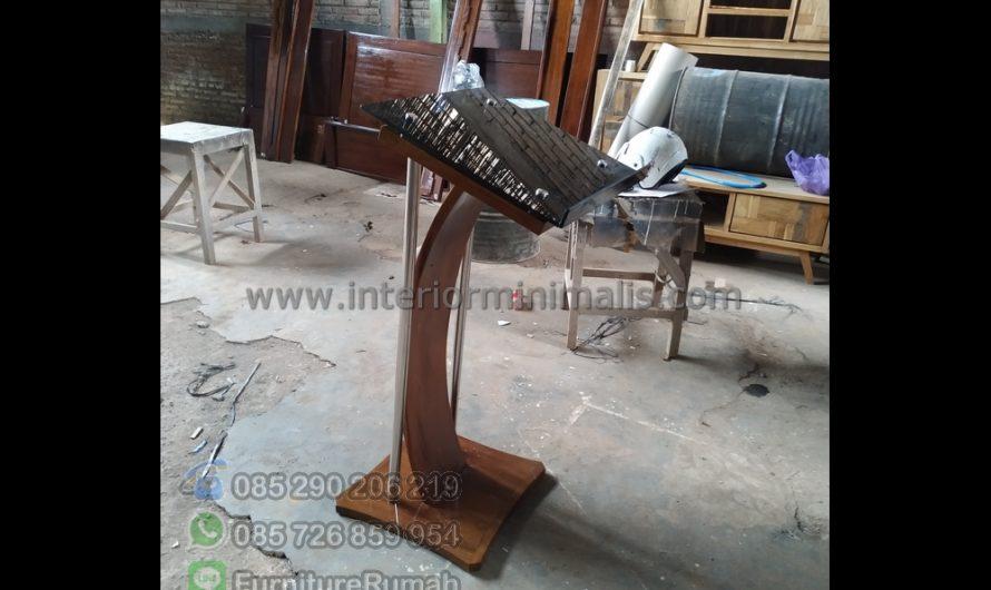 Produk Terbaru Mimbar Duduk Minimalis MM 802