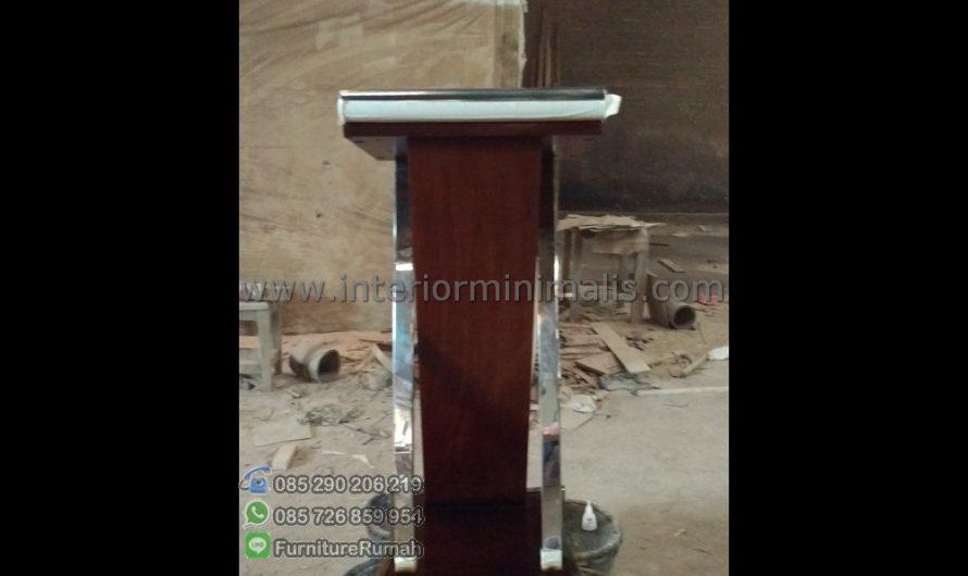 Produk Terbaru Model Mimbar Gereja Minimalis MM 490