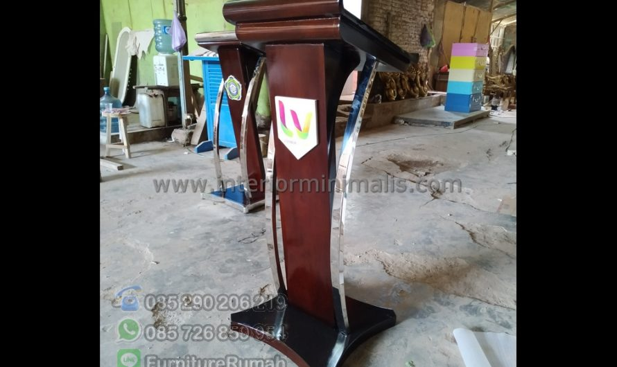 Produk Terlaris Jual Mimbar Masjid Samarinda MM 663