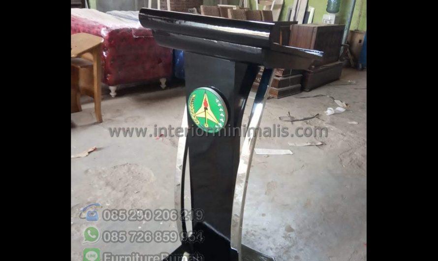 Produk Unggulan Contoh Mimbar Masjid MM 886