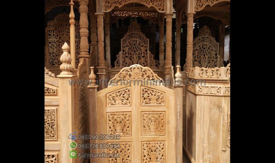 Produk Unggulan Harga Mimbar Masjid Minimalis MM 502