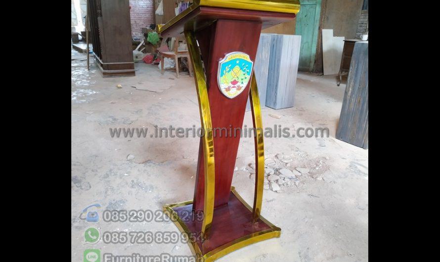 Produk Unggulan Podium Stainless Surabaya MM 742