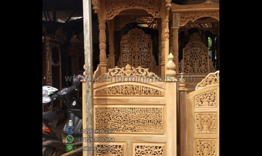 Promo Kami Gambar Mimbar Masjid Minimalis MM 501