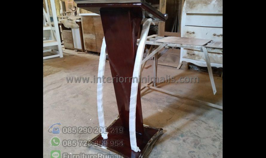 Promo Stock Harga Mimbar Jati Jepara MM 760