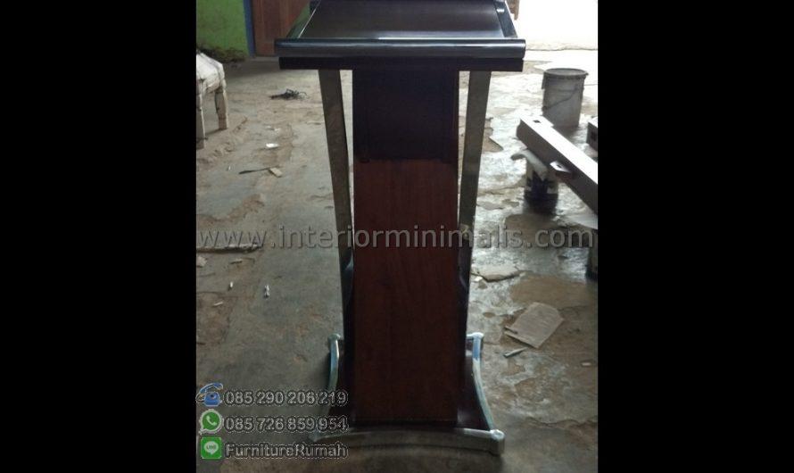 Promo Stock Mimbar Khutbah Minimalis MM 496