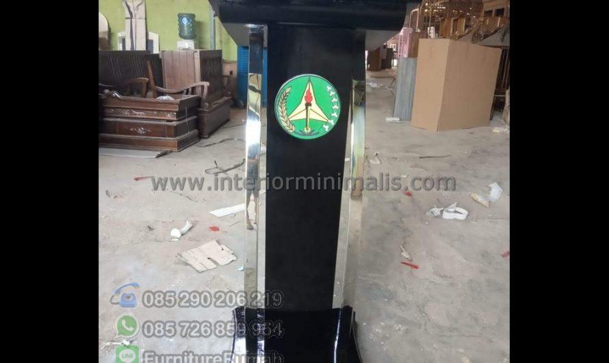 Special Produk Contoh Mimbar Masjid Terbaru MM 887