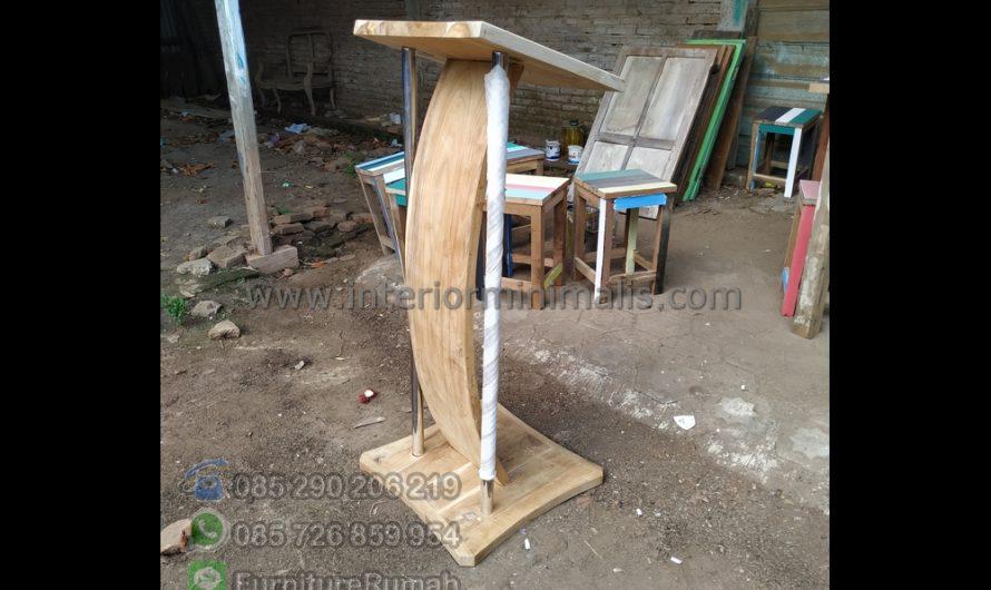 Special Produk Jual Mimbar Minimalis MM 810
